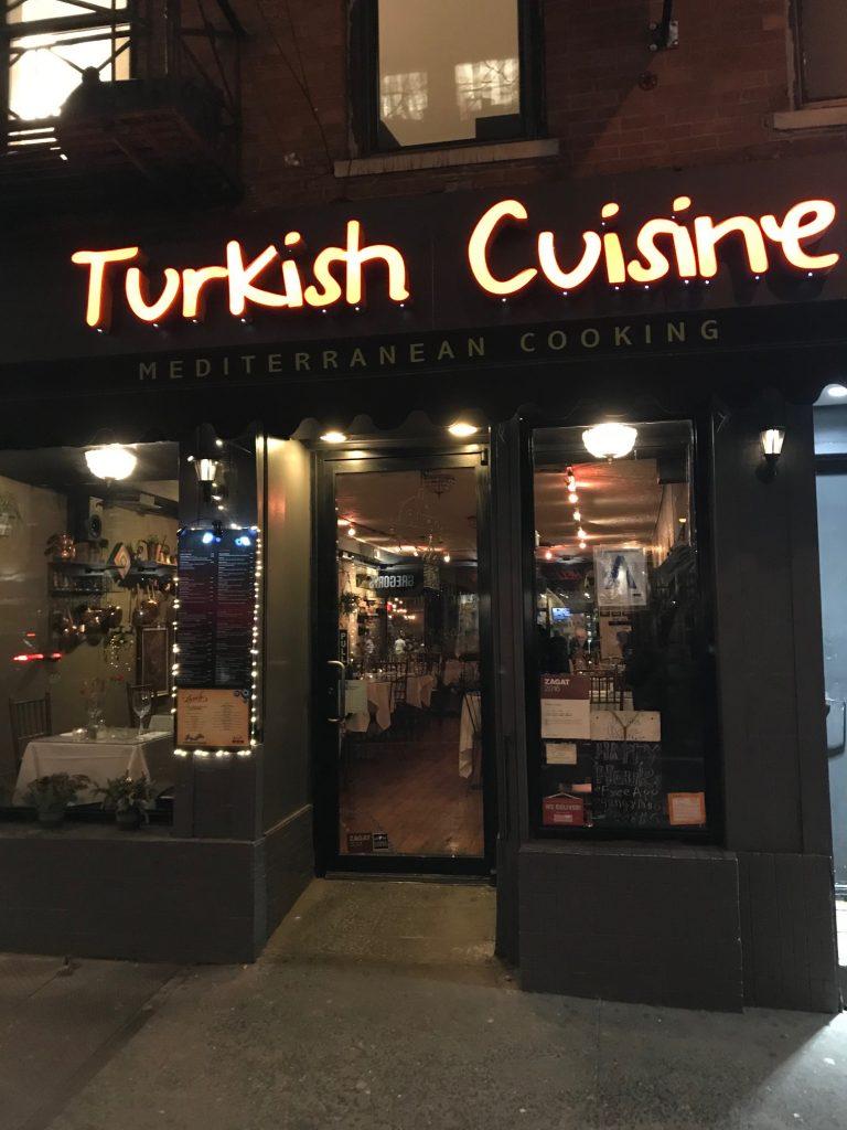 Turkish Restaurant Near Port Authority